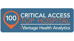 Named one of the top Critical Access Hospitals in 2014, 2015 and 2017