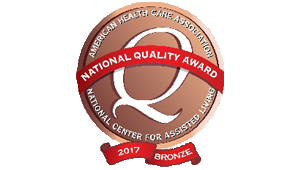 Gardenside Bronze - Commitment to Quality Award 2017